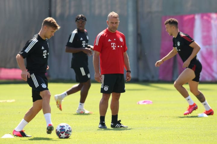 Kimmich has played some of the best football of his career under Flick