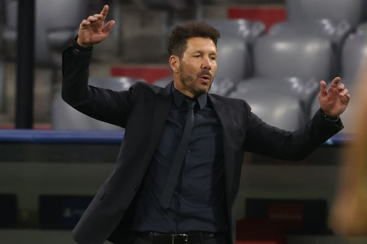 Simeone's side were outclassed