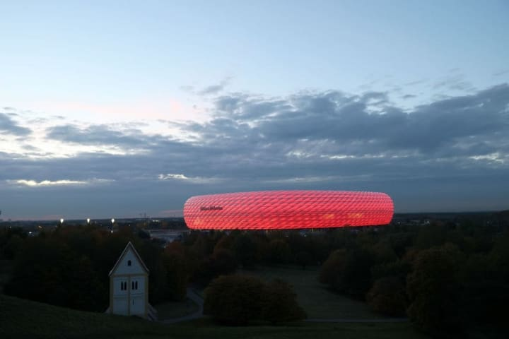 The Allianz Arena is the pinnacle of modern football stadiums