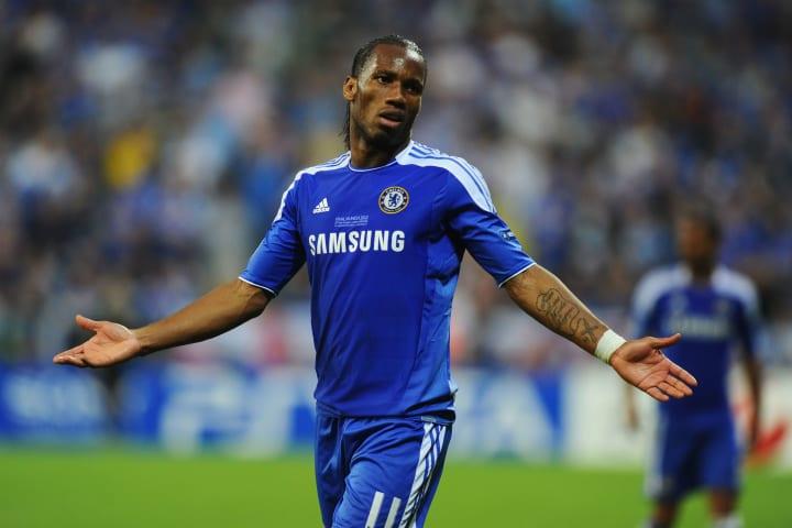 Drogba was Chelsea's hero in 2012