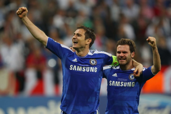 Frank Lampard, Juan Mata