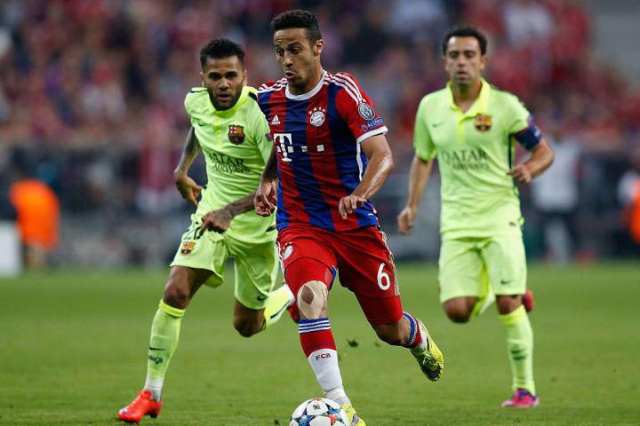 Thiago Alcántara, Bayern Munich