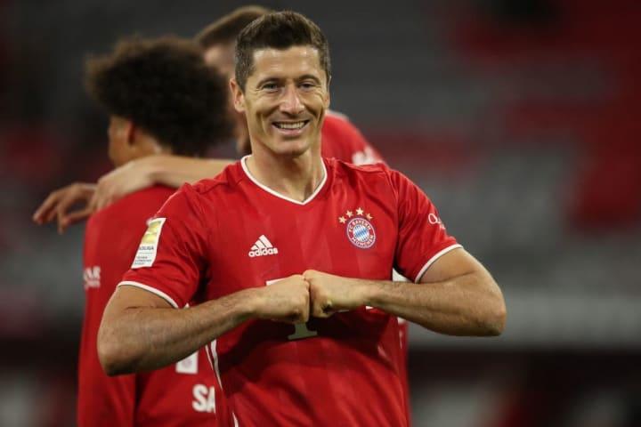 A monster 91 rating for Robert Lewandowski in FIFA 21