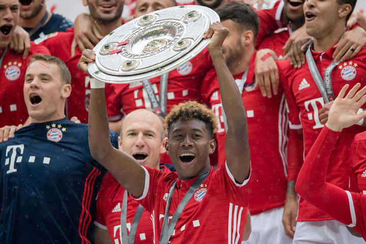 Alaba has enjoyed a trophy-laden spell with Bayern Munich
