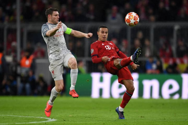 Thiago Alcântara - Spanish Soccer Player, James Milner - Soccer Player