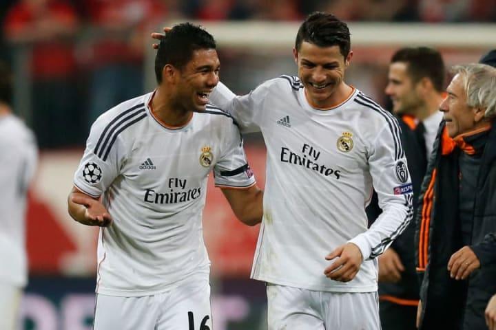 Cristiano Ronaldo, Casemiro