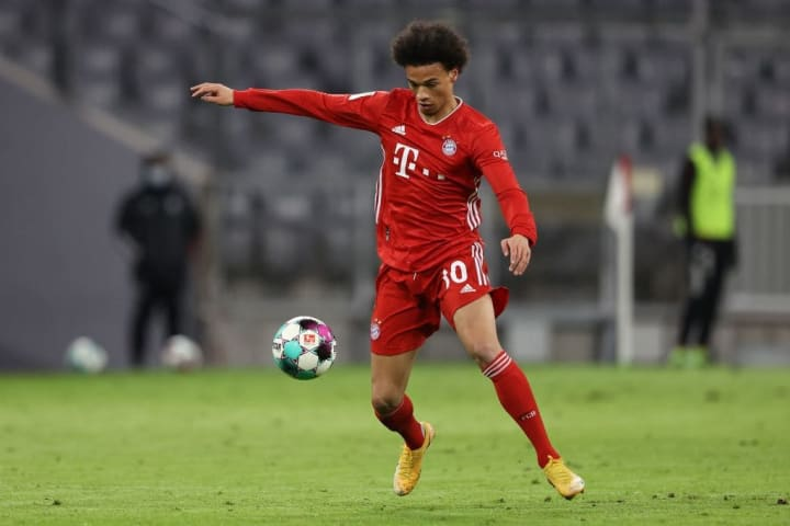 Leroy Sane has been in red-hot form since joining Bayern Munich