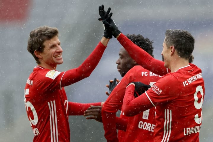 Muller's teammates will be without him for two weeks at least