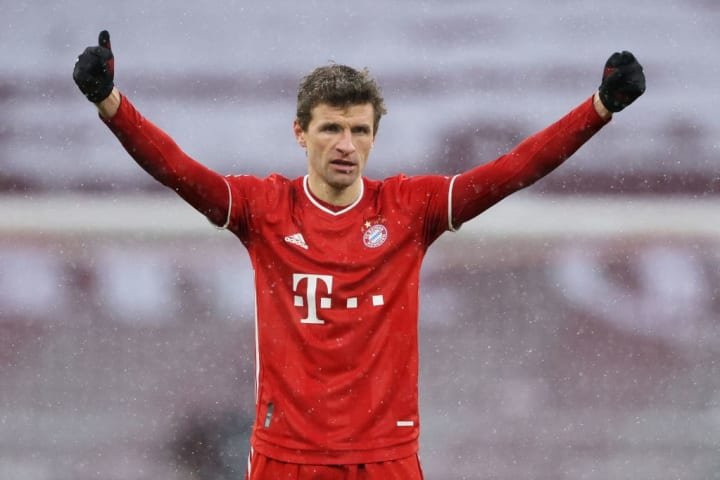 A goal and an assist, Thomas Muller comes up clutch yet again for Bayern