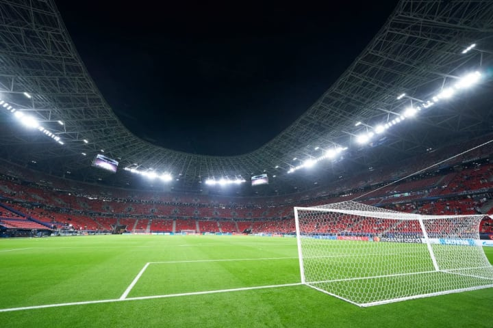 Hungary's Puskas Arena hosted the 2020 UEFA Super Cup
