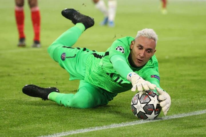 Keylor Navas will be second choice at PSG next season