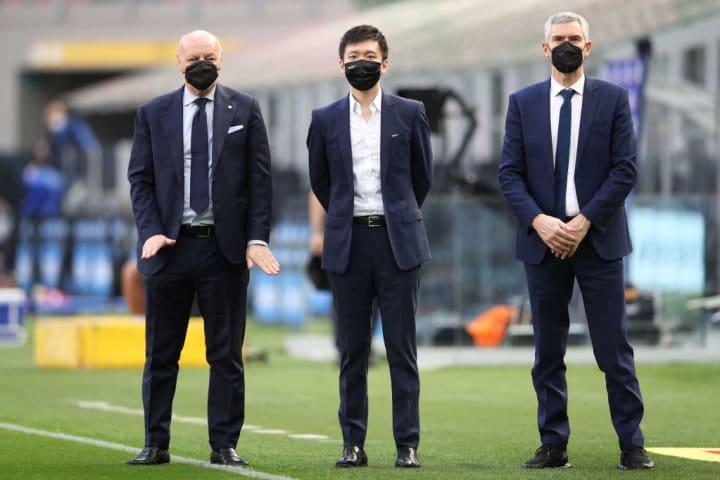 Giuseppe Marotta, Steven Zhang, Alessandro Antonello