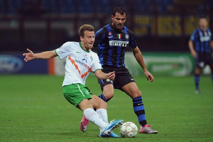 10 Jahre her: Philipp Bargfrede in der Champions League gegen Inter Mailand