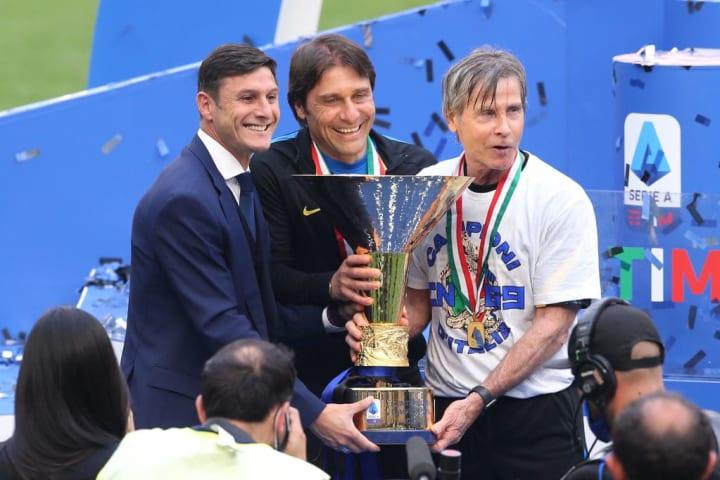 Javier Zanetti, Antonio Conte, Gabriele Oriali