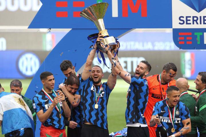 Inter won the league title with Conte, but he walked away in the immediate aftermath