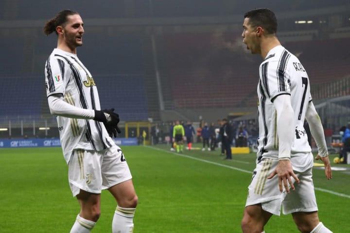 Cristiano Ronaldo, Adrien Rabiot
