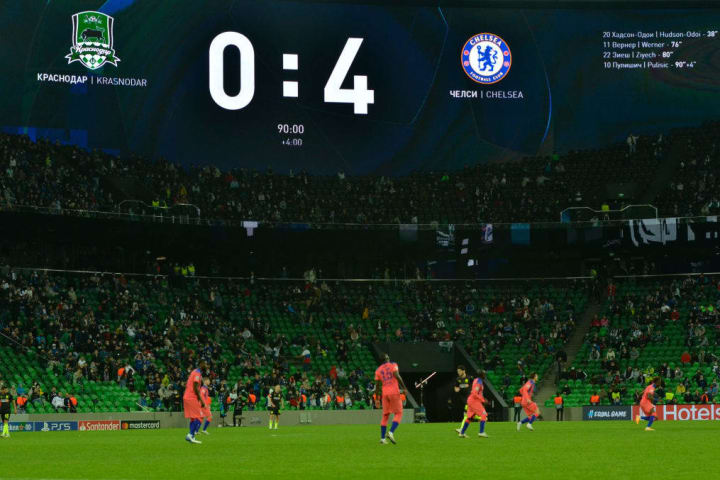 Chelsea have four points from their opening two Champions League matches