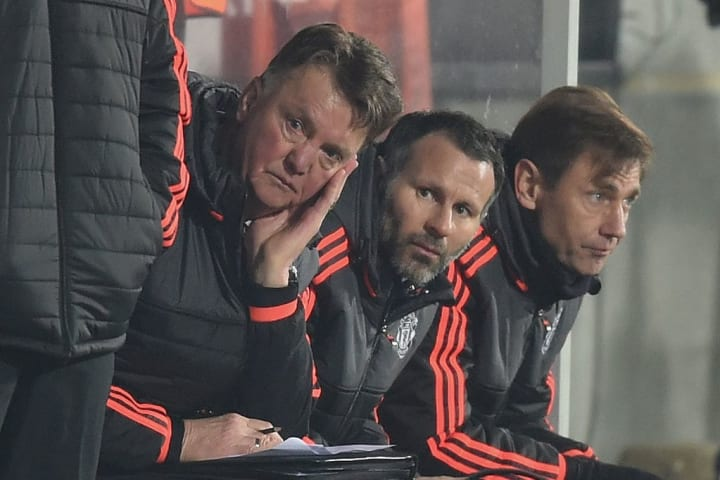 It was a difficult spell for United in early 2016
