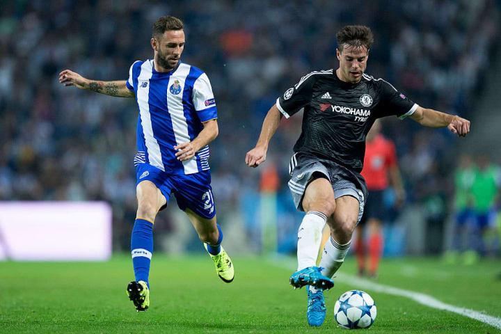 Chelsea were beaten 2-1 in Porto in September 2015