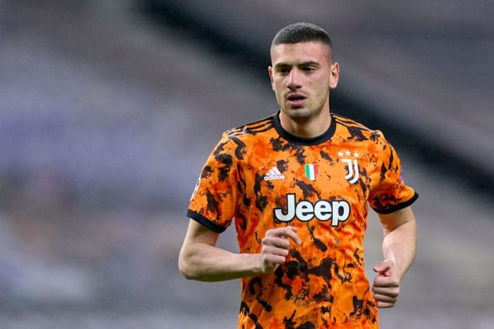 Demiral should replace Chiellini in the backline