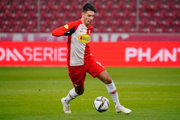 Dominik Szoboszlai s'est révélé avec le RB Salzbourg.