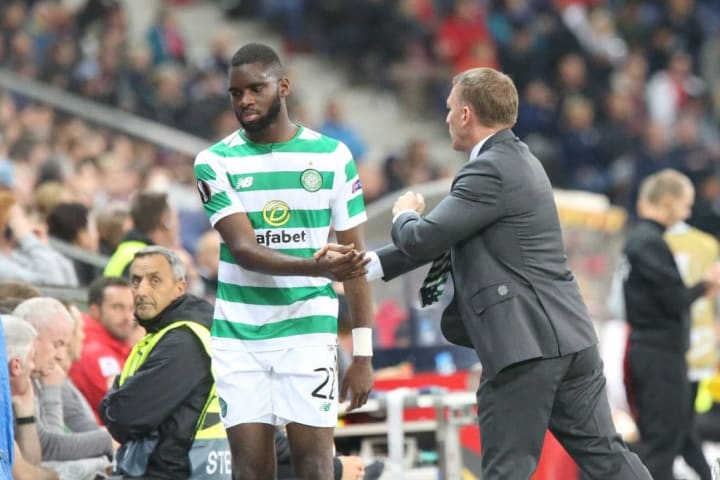 Leicester manager Brendan Rodgers brought Edouard to Celtic