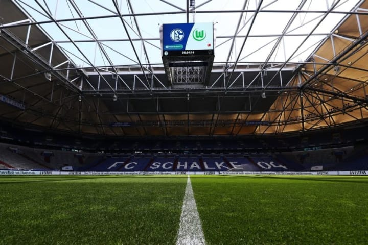 Schalke's Veltins Arena will host the two sides on Wednesday night.