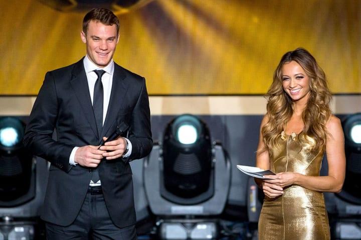 Manuel Neuer, Kate Abdo