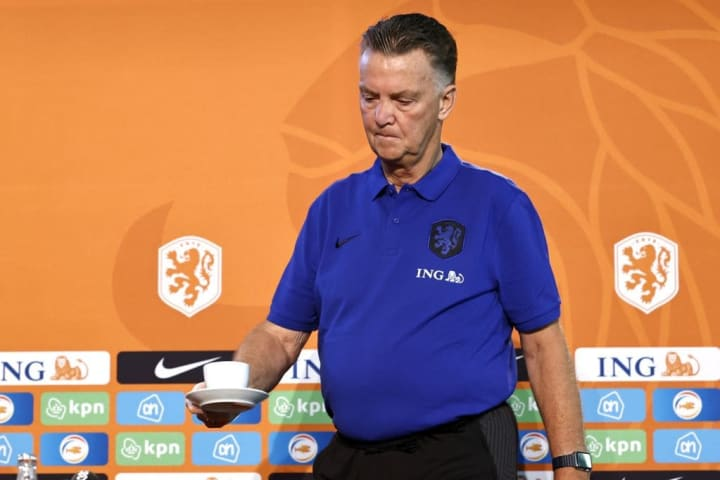 """FIFA World Cup Qualifier""""Press conference The Netherlands"""""""