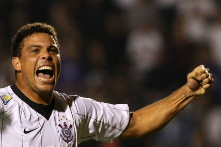 (FILE) Brazilian striker of Corinthians