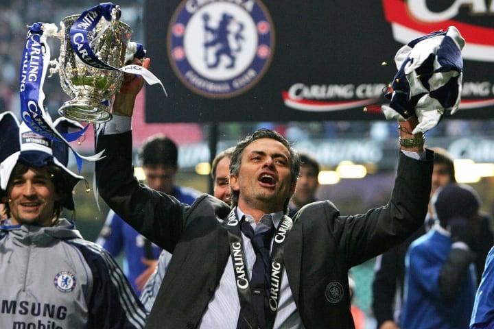 (FILES) Chelsea manager Jose Mourinho ce