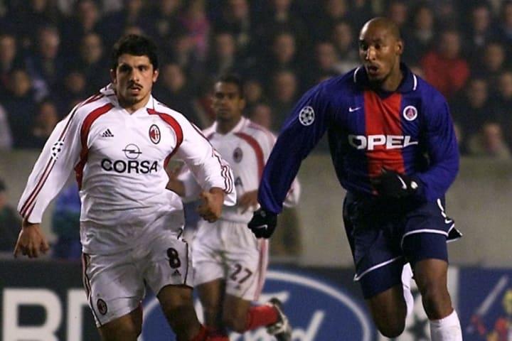 Anelka up against Milan