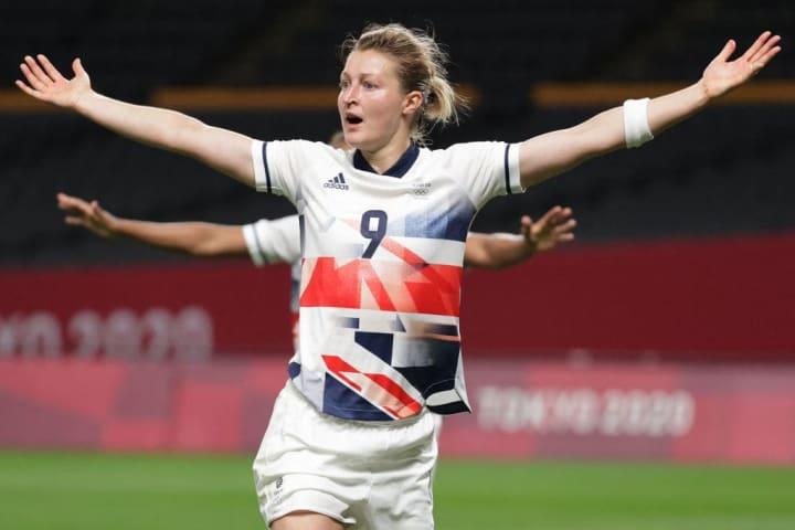 Ellen White was Team GB's matchwinner again