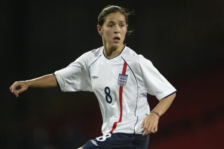 Fara Williams of England