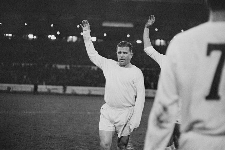 Ferenc Puskas of Real Madrid