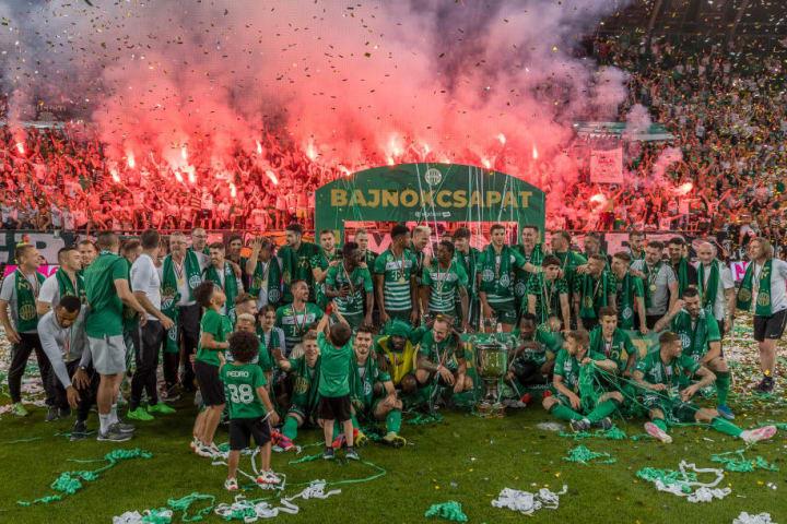 Ferencvarosi TC v Mezokovesd Zsory FC - Hungarian OTP Bank Liga