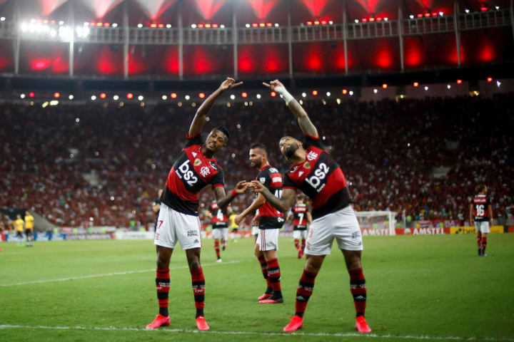 Gabriel Barbosa Bruno Henrique Flamengo Brasil Bronze Olimpíadas Tênis Dupla