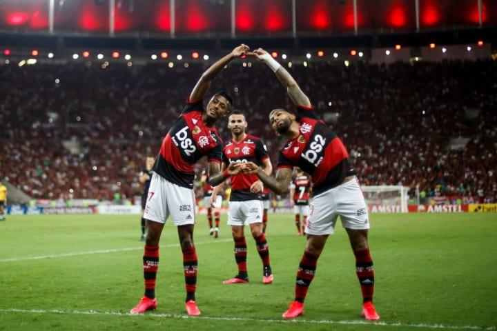 Gabriel Barbosa, Bruno Henrique