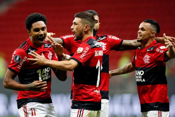 Vitinho Flamengo Gol Curiosidade Libertadores Quartas de final