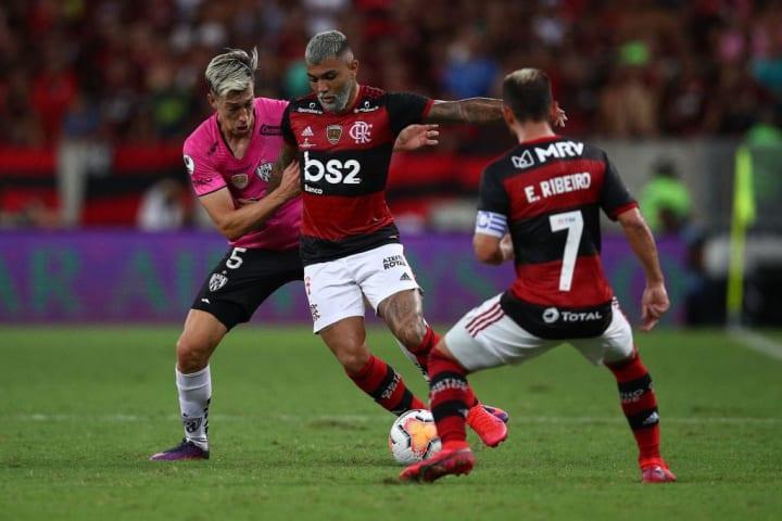 Gabriel Barbosa, Richard Schunke, Everton Ribeiro