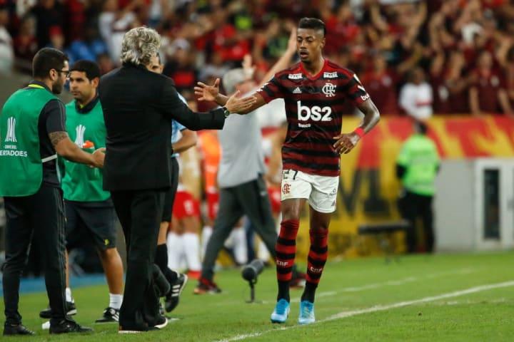 Bruno Henrique, Jorge Jesus