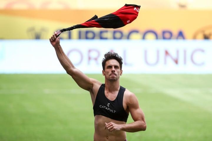 Rodrigo Caio Zagueiro Flamengo Brasil