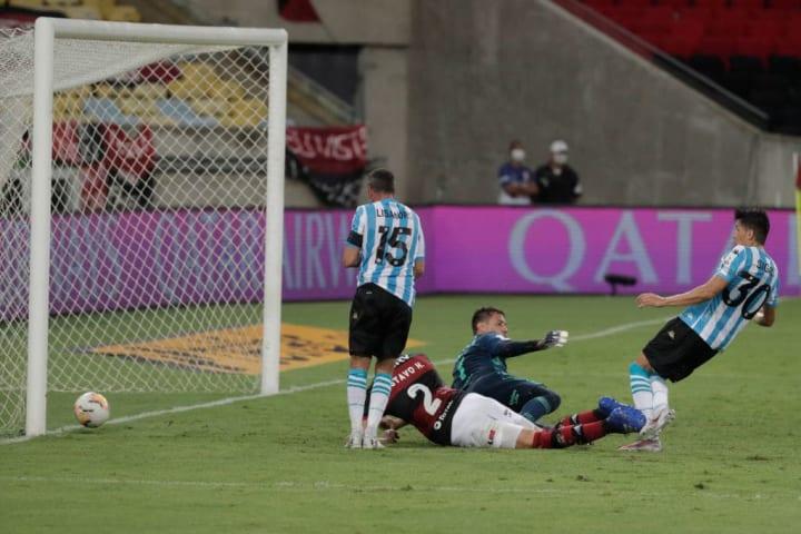 Leonardo Sigali Flamengo Racing Eliminação Oitavas Libertadores 2011