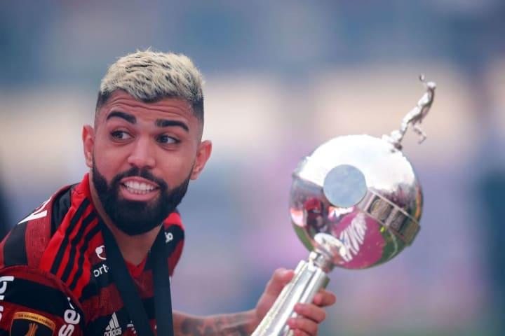 Gabriel Barbosa Flamengo  Libertadores