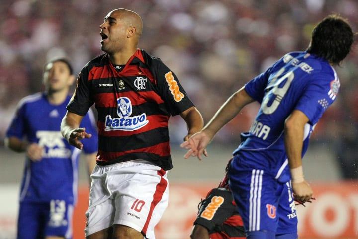 Flamengo v Universidad de Chile - Libertadores Cup 2010