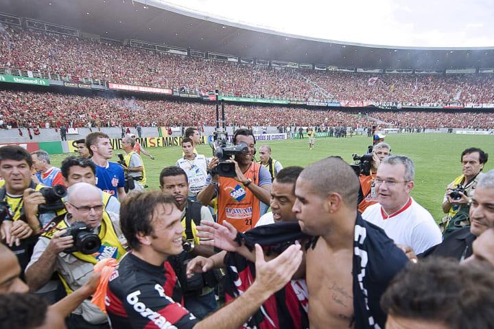 Adriano Flamengo Fábio Luciano Brasileirão
