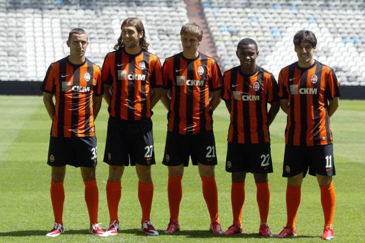 Football players of FC Shakhtar Donetsk