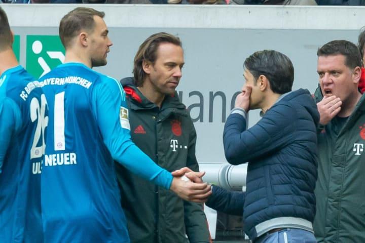 Neuer won his seventh-consecutive Bundesliga title under Niko Kovac in 2018
