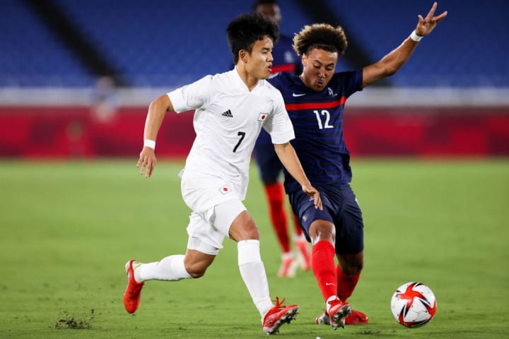 Takefusa Kubo grabbed another goal against France recently
