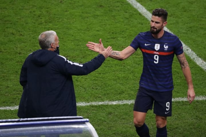 Didier Deschamps, Olivier Giroud